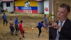 ETCR y Juan Manuel Santos
