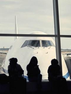 Pasajeros de avión