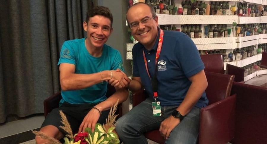 Miguel Ángel López y Ricardo Orrego
