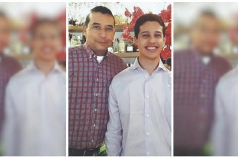 Juan Carlos Madero y su hijo Juan Camilo