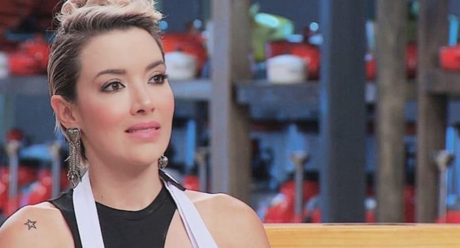 Catalina Gómez, actriz y exparticipante de 'Masterchef'.