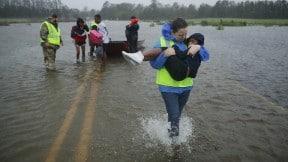 Evacuaciones por huracán Florence