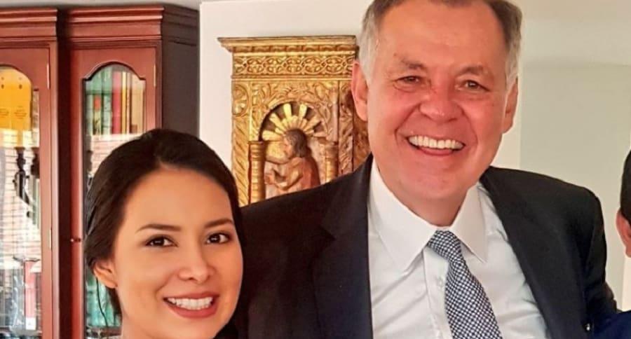 Ángela Hernández y Alejandro Ordóñez