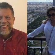 Padre Linero y Esperanza Gómez