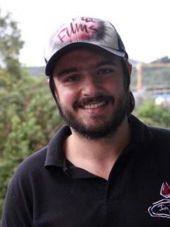 Andrés Sandoval, actor.