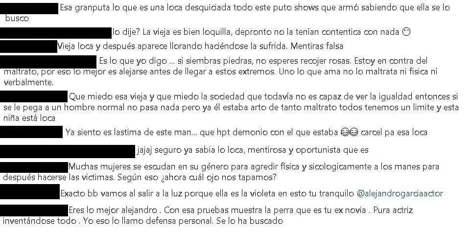 Comentarios Alejandro García