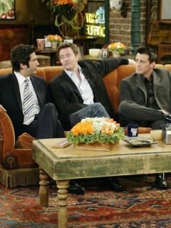 David Schwimmer, Matthew Perry y Matt LeBlanc