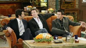 David Schwimmer, Matthew Perry y Matt LeBlanc