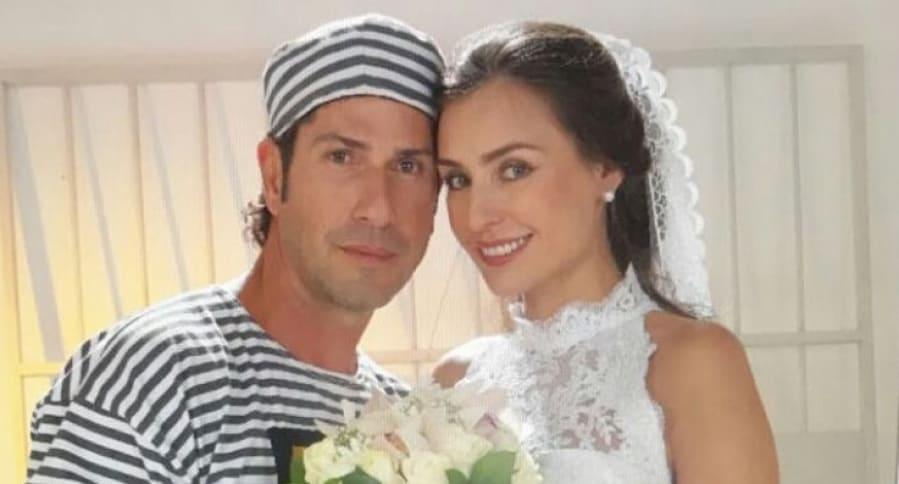 Gregorio Pernia y Marcela Mar