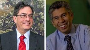 Alberto Carrasquilla y Daniel Coronell