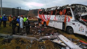 Accidente de tránsito en Ecuador