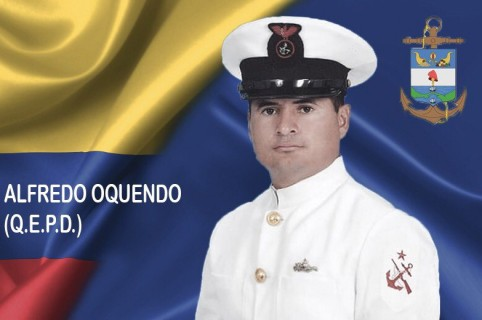 Cabo primero Luis Alfredo Oquendo.