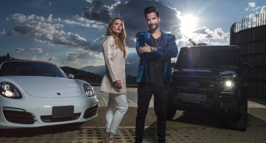 Carolina Ramírez y Carlos Torres, protagonistas de 'La reina del flow'