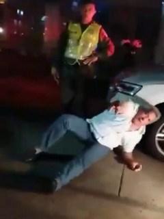Conductor borracho en Cartagena