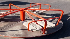 Carrusel de parque