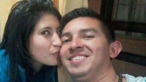Carmen González y Maicol Hurtado