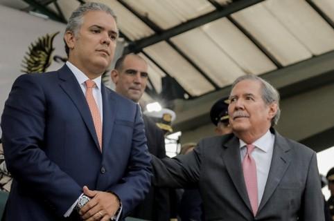 Iván Duque y Guillermo Botero