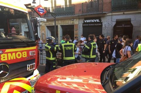 Incidente en el metro de Madrid