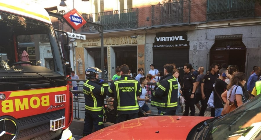 Incidente en el metro de Madrid