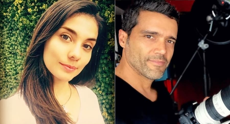 Eileen Moreno y Alejandro García, actores.1