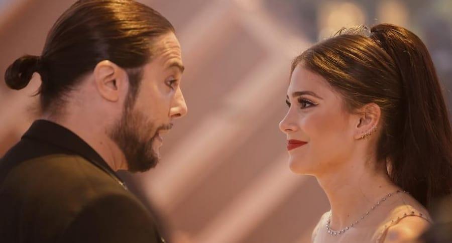 Joaquín Cortés y Greeicy Rendón