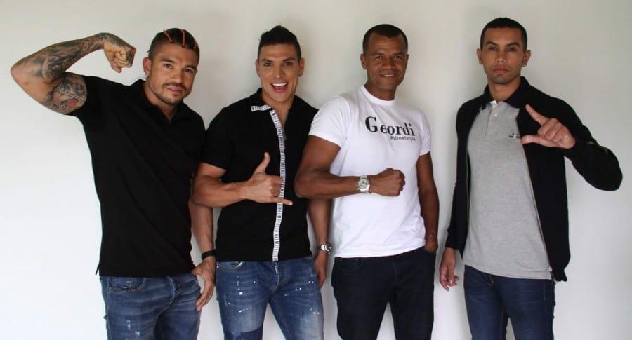 'Be', Diego,  'Olímpico' y Lucumí.
