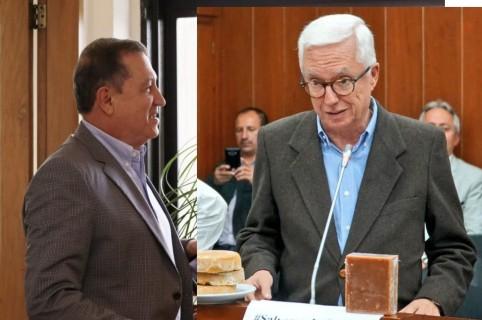 Ernesto Macías y Jorge Robledo