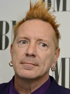 John Lydon, exvocalista de Sex Pistols.