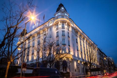 Fachada del hotel Ritz