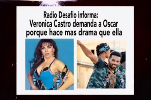 Meme sobre el 'Desafío' con Óscar y Verónica Castro.