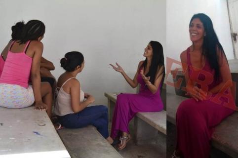 'Madame' en la cárcel de mujeres de San Diego, Cartagena