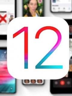 iOS 12 iPhone, iPad y iPod