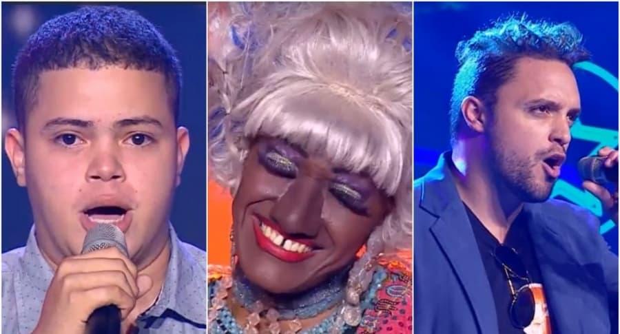 Alejandro Fernández, Celia Cruz y David Bisbal