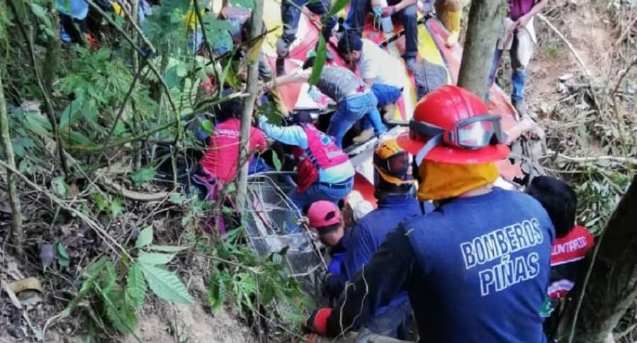 Rescate de víctimas
