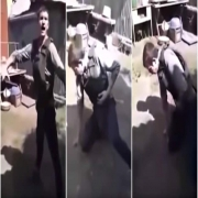 Hombre se dispara a sí mismo.