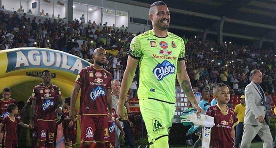 Álvaro Montero, arquero del Deportes Tolima