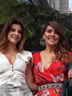 Carolina Cruz, Mónica Rodríguez y Catalina Gómez, presentadoras.