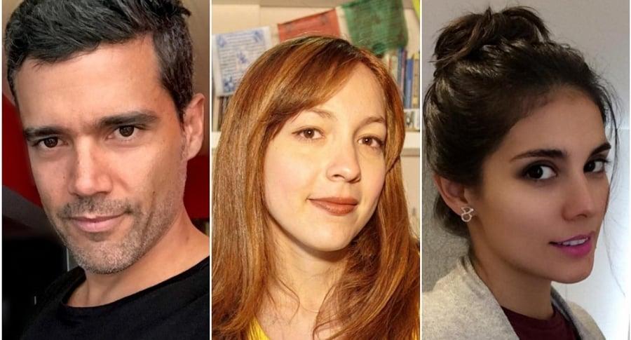 Alejandro, Mariángela y Eileen