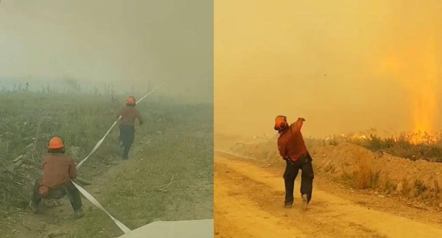 Fuego en Canada