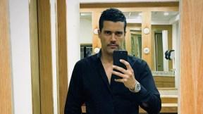 Alejandro García, actor.