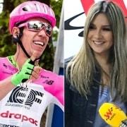 Rigoberto Urán y Vicky Dávila