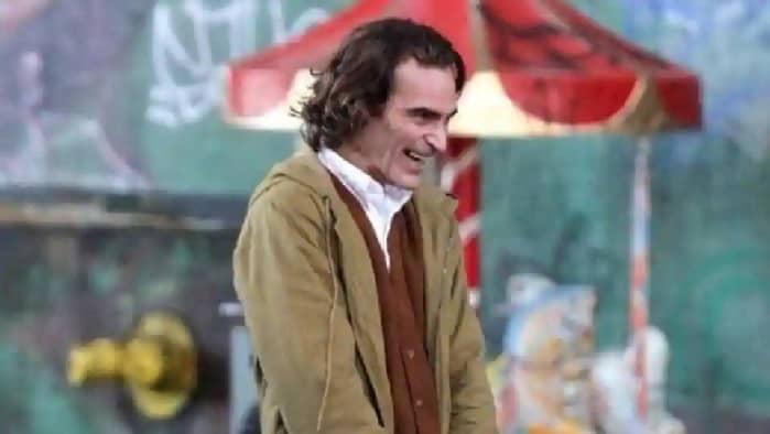 Joaquin Phoenix como 'El Guasón'