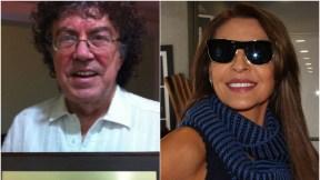 Piero y Amparo Grisales