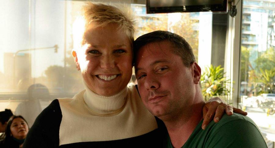 Xuxa y Hernan Mondragon