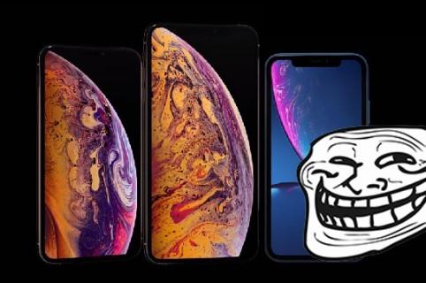 iPhones y Troll Face