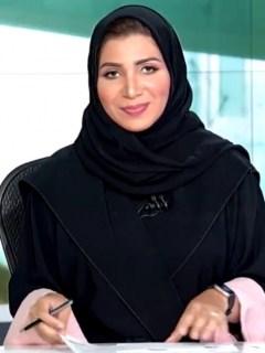 Presentadora árabe