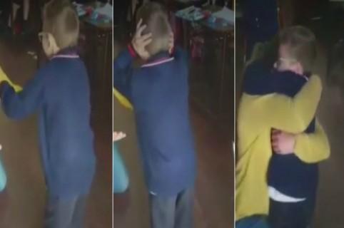 Niño argentino con parálisis