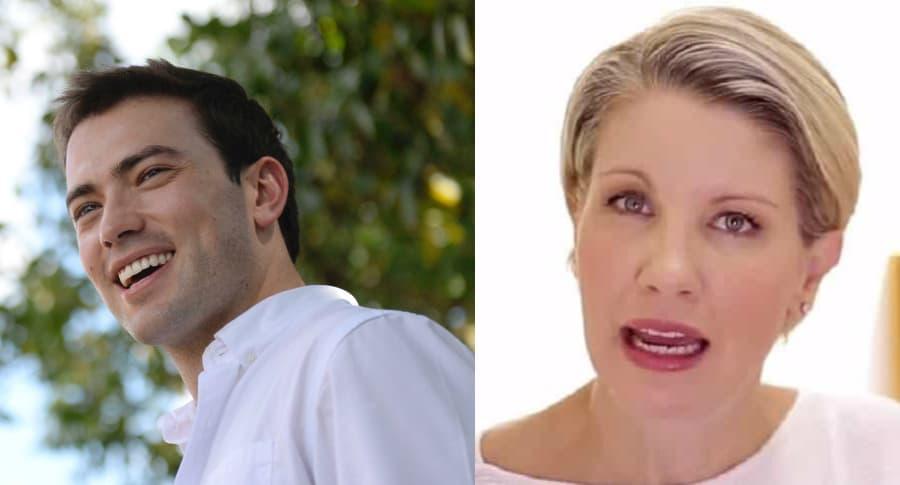 Esteban Santos y Claudia Gurisatti