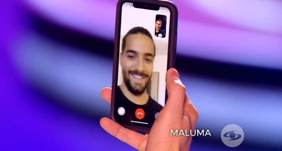 Maluma en Yo me llamo