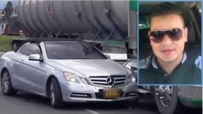 Ricardo Cotrina, comerciante asesinado en carro Mercedes Benz